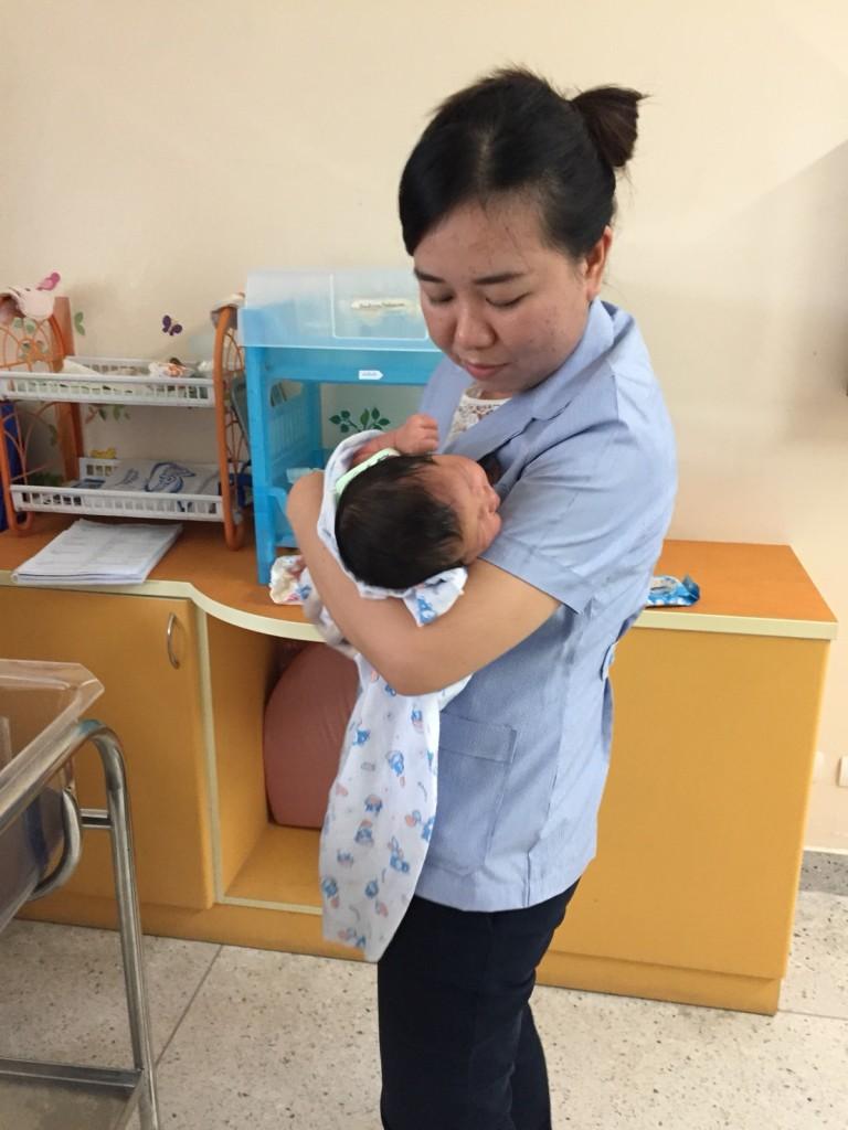 7. NNNS training at Chom Tong Hospital