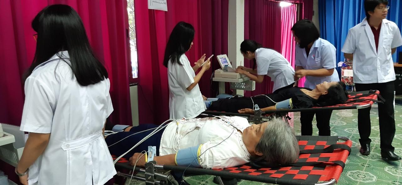 ตรวจสุขภาพเทศบาลตำบลแม่โป่ง 12 July 2019_190719_0068